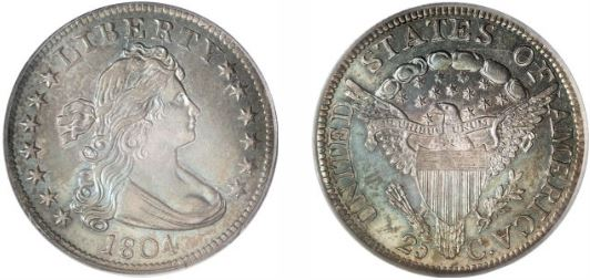 1804 Large Eagle Quarter