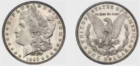 1893-S Morgan Silver Dollar