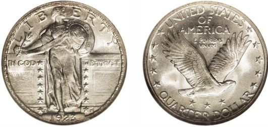 1923-S Standing Liberty Quarter value