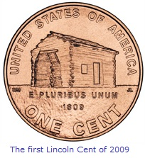 2009 Lincoln Cent 1st