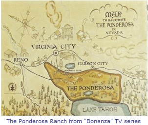 The Ponderosa Ranch from Bonanza