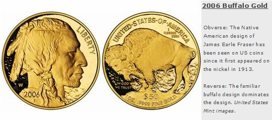 2006 Buffalo gold coin