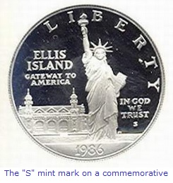 San Francisco S mint mark