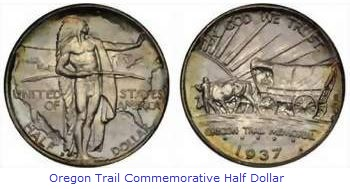 Oregon Trail Commemorative Half Dollar