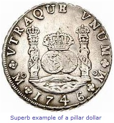 Spanish Pillar Dollar
