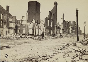 Richmond war devastation, April 1865