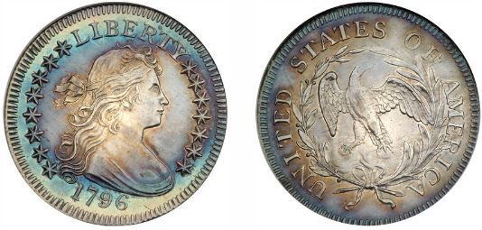 Uncirculated 1796 Draped Bust Quarter