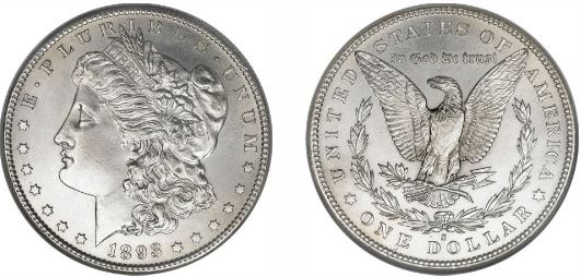 The 1893-S Morgan Silver Dollar is the Granddaddy of