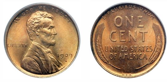Uncirculated 1909-S VDB Lincoln Cent