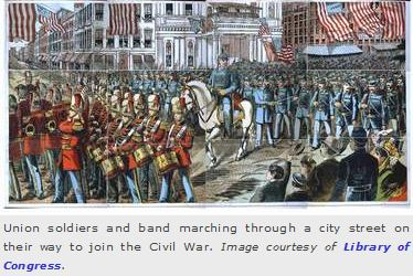 Civil War Parade
