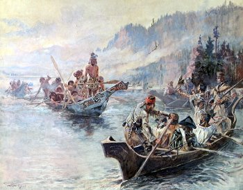 Lewis and Clark, by Charles M Russell