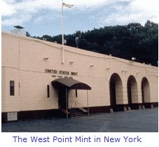 The West Point Mint in New York