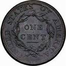 1813 Large cent rev