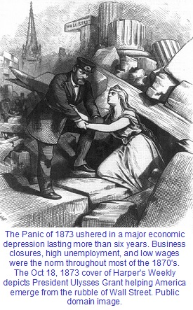 Panic of 1873 Harper's Weekly