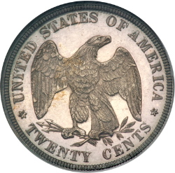 Twenty cent coin rev