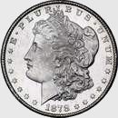 1878-CC Morgan silver dollar obv