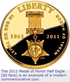 Modern Commemorative coin example