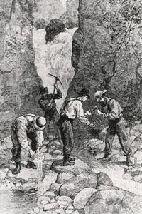 Georgia Gold Rush miners