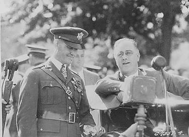 Franklin Roosevelt at West Point