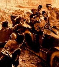 Ferdinand Assassination 1914