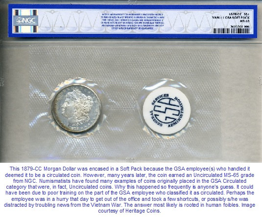 GSA Morgan Dollar Soft Pack