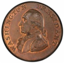 1791 George Washington pattern cent