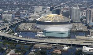 Katrina Flooding Superdome