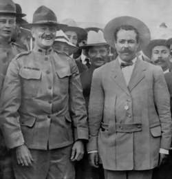General John J. Pershing and Pancho Villa