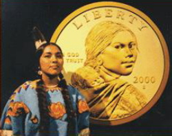 Sacagawea Dollar model