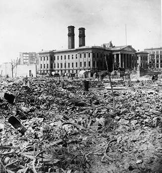 San Francisco Mint and the 1906 earthquake