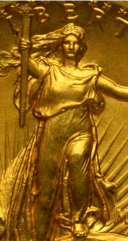 Saint Gaudens high relief