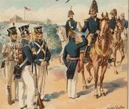 War of 1812 army
