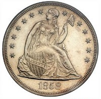 Seated Liberty Dollar coin values