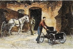 Henry Ford and his Quadricycle
