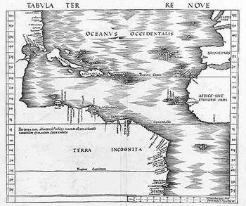 Early American map