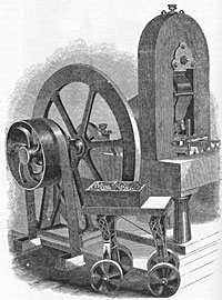 First Steam Powered Press